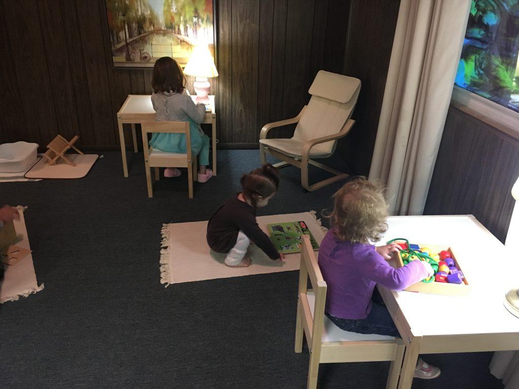 First Children in Their Space