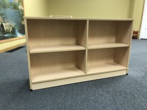 Closed-back Shelves from Crowes Cabinets