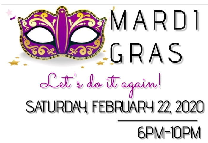 Mardi Gras 2020, Saturday, February 22, 2020
